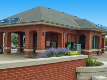 Metra 153rd Street (Orland Park) SWS Station
