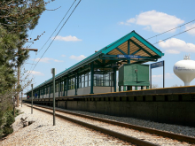 Metra 211th Street (Lincoln Highway) Electric Station