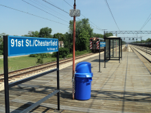 91st Street (Chesterfield) Metra Electric Station