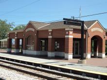 Metra Ashburn SWS Station