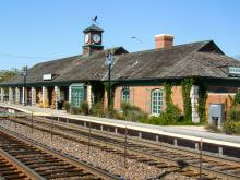 Metra Barrington UP-NW Station