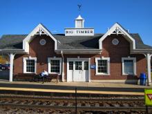 Metra Big Timber Road Milw-W Station