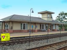 Metra Buffalo Grove NCS Station