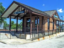 Metra Chicago Ridge SWS Station