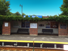 Metra Edgebrook Milw-N Station