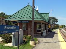 Metra Elmwood Park Milw-W Station