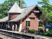Metra Glencoe UP-N Station