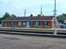 Metra Harvard UP-NW Station