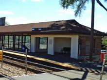 Metra Healy Milw-N Station