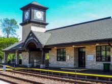 Metra Highland Park UP-N Station