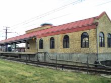 Metra Homewood Electric Station
