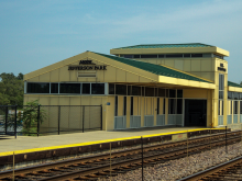 Metra Jefferson Park UP-NW Station