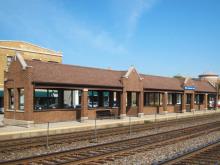 Metra LaGrange Road BNSF Station