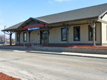 Metra Lake Villa NCS Station