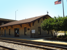 Metra Lemont Heritage Station