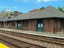 Main Street (Evanston) UP-N Station