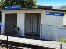 Metra Mayfair Milw-N Station