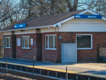 Metra Medinah Milw-W Station
