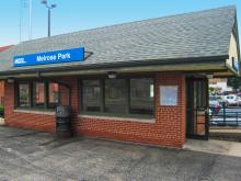 Metra Melrose Park UP-W Station