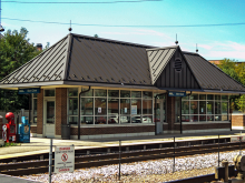 Metra Mont Clare Milw-W Station