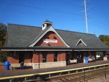 Metra National Street Milw-W Station