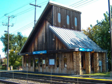 Metra North Chicago UP-N Station