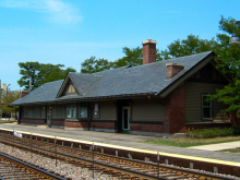Metra Norwood Park UP-NW Station