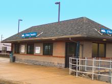 Metra O'Hare Transfer NCS Station