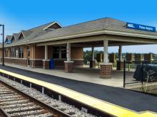 Palos Heights Metra Station