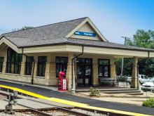 Metra Palos Park SWS Station