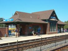 Metra Prairie View NCS Station
