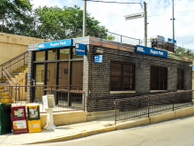 Metra Rogers Park UP-N Station