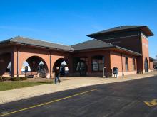 Metra Roselle Milw-W Station