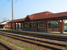 Metra Route 59 BNSF Station