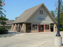 Metra Vernon Hills NCS Station