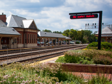 Metra Western Springs BNSF Station