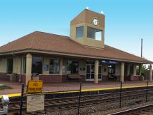 Metra Wheeling NCS Station