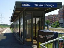 Metra Willow Springs Heritage Station
