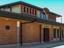 Metra Wilmette UP-N Station