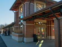 Metra Wood Dale Milw-W Station
