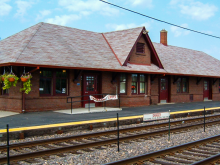 Metra Woodstock UP-NW Station