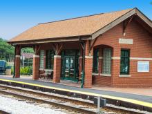 Metra Worth SWS Station